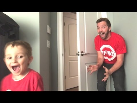 Dad Scares 5 Year Old AGAIN and AGAIN!