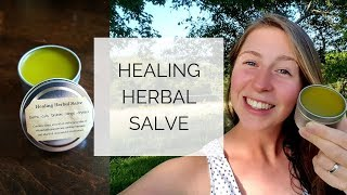 Gambar cover How to Make Healing Herbal Salve | Healing Plantain Salve Part 2