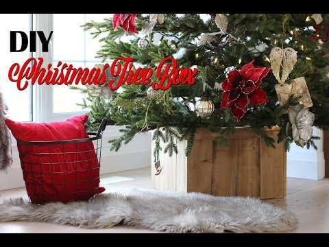 DIY Christmas Tree Box