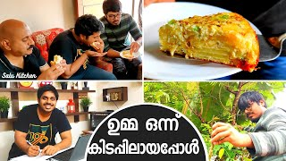 Indo- Spanish Egg Omlette | Salu Kitchen | Cooking Vlog