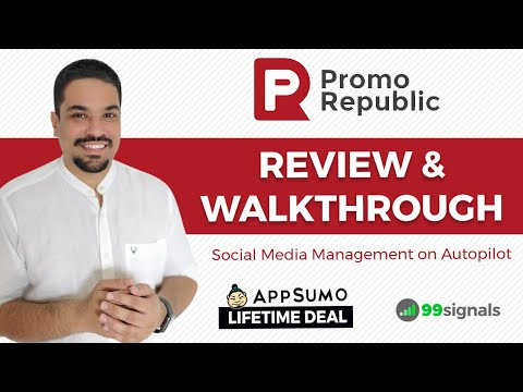 PromoRepublic Review - Social Media Content Creation & Automation Tool [+ AppSumo Deal]