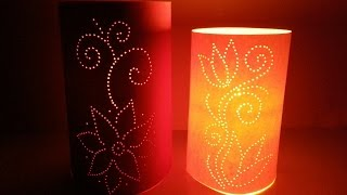 How To Create Moroccan Inspired Paper Luminaries - DIY Home Tutorial - Guidecentral