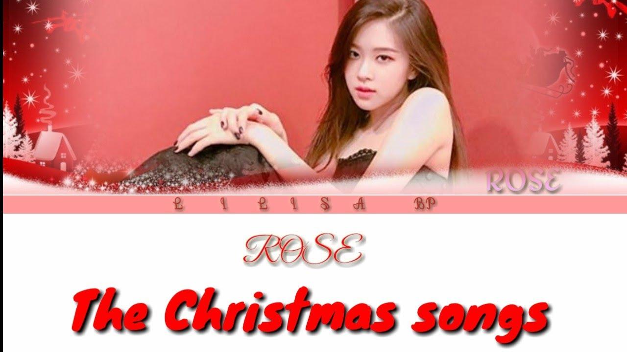 "BLACKPINK)ROSÉ - ""THE CHRISTMAS SONG"" (Nat King Cole- COVER-(Lyrics Eng) - YouTube"