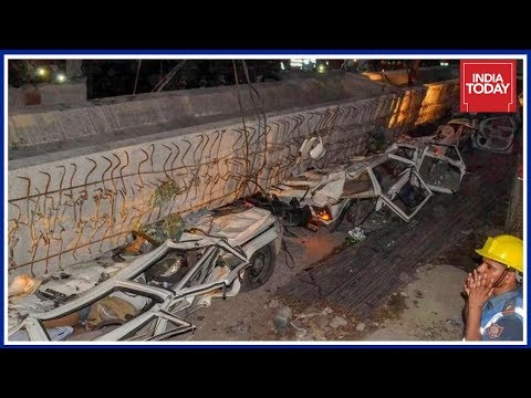 Under Construction Flyover Collapses In Varanasi; 12 Dead, Several Injured