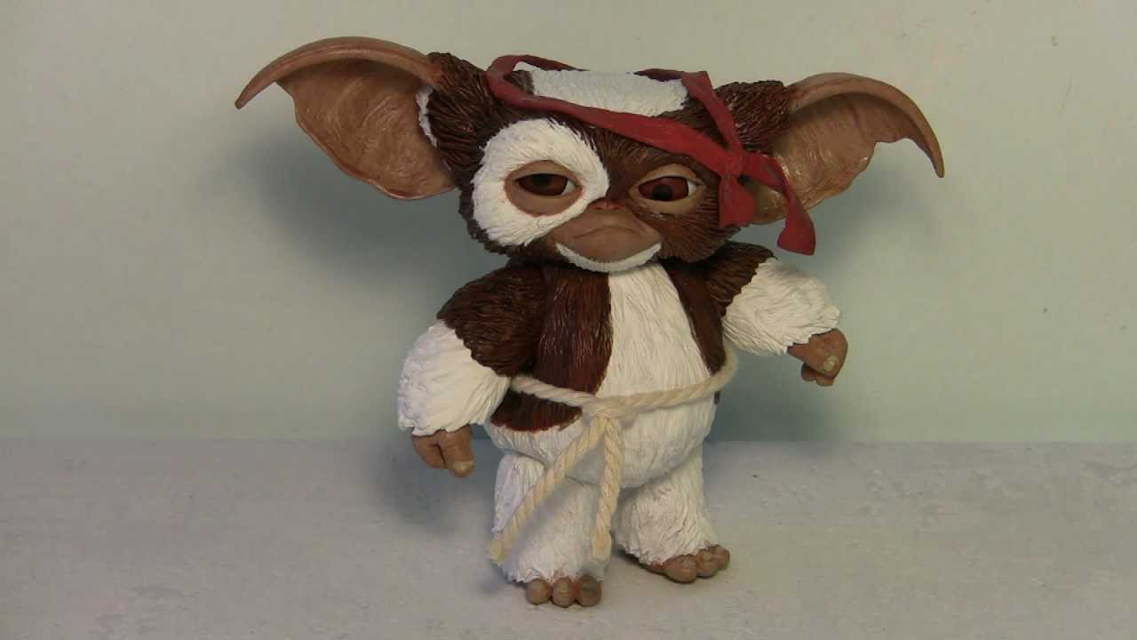 gremlins combat gizmo figure review rambo gizmo by neca