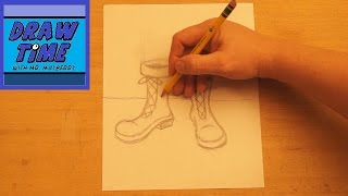 How to Draw Snow Boots