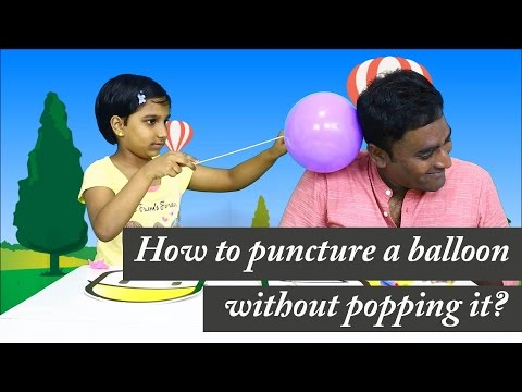 Download How to puncture a balloon without popping it? LMES Kids #03 Mp4 baru