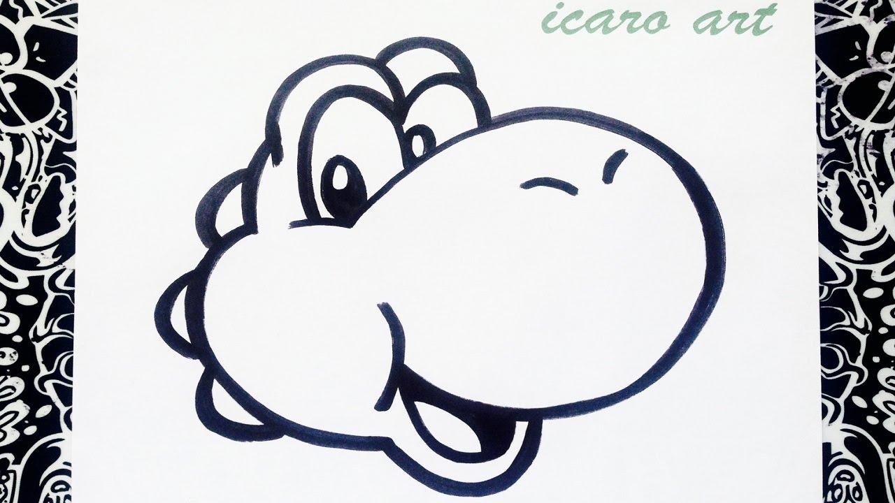 How To Draw Yoshi - YouTube