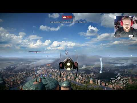 Star Wars Battlefront II Gameplay Live from EA Play (Battlefront 2 Multiplayer Gameplay LIVE)