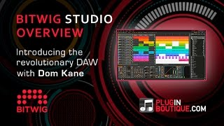 BitWig Studio Overview - GUI And On-Board Effects