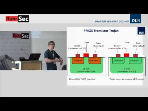 "RuhrSec 2017: ""How to Build Hardware Trojans"", Prof. Dr. Christof Paar"