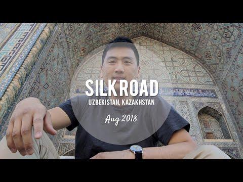 Silk Road: Uzbekistan (Samarkand, Tashkent), Kazakhstan (Almaty, Astana) (Aug-18)
