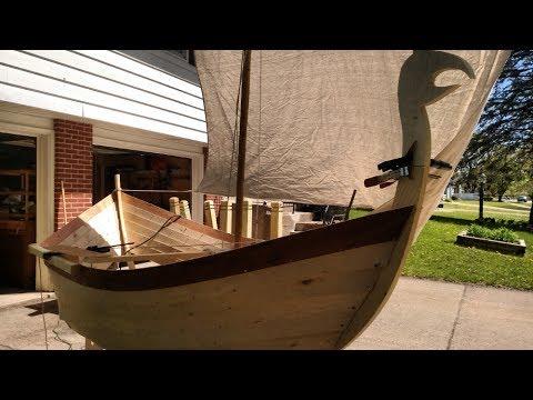 DIY Viking Boat Timelapse