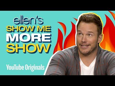 Chris Pratt Takes On Ellen's Burning Questions