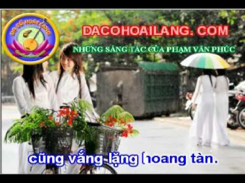www.conhacquehuong.com- Karaoke vọng cổ : ÁO TRẮNG NGÀY XƯA