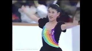伊藤みどり Midori Ito 1990 NHK Trophy (Asahikawa) - Exhibition - Rain Story