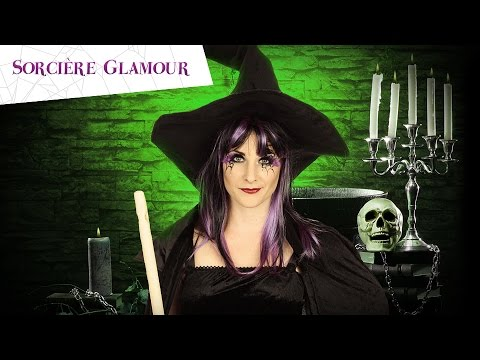 tuto maquillage halloween sorci re femme youtube. Black Bedroom Furniture Sets. Home Design Ideas