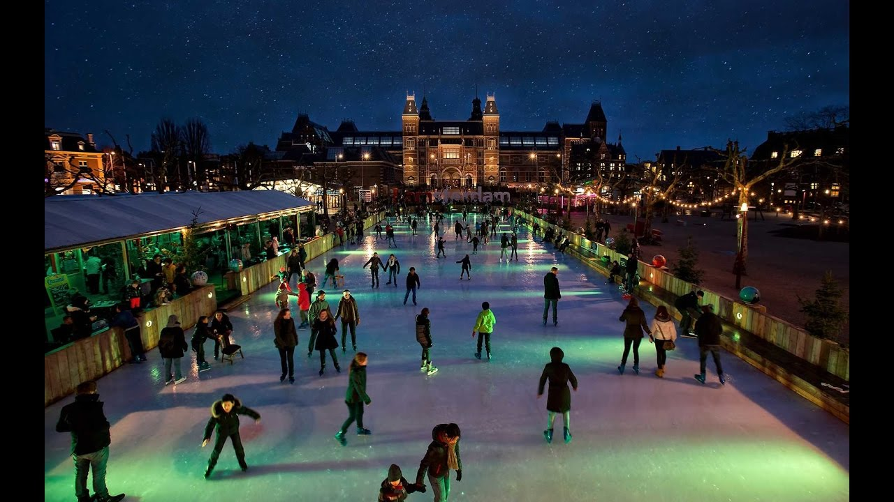 Christmas Market Amp Ice Rink In Amsterdam Christmas
