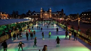 Christmas Market & Ice Rink in Amsterdam - Christmas Village on Ice
