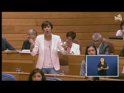 """Ana Pontón: """"Os recortes na sanidade teñen consecuencias, os recortes matan, sr Feixóo!"""