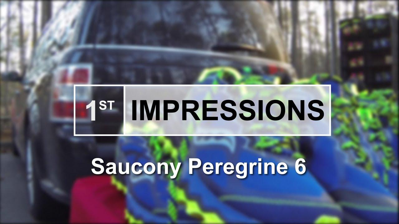 Saucony Peregrine 6.0