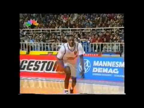 Hellenic ( Greek ) Basketball ALL STAR GAME 1996 part 1