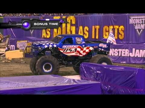 Monster Jam in Angel Stadium of Anaheim - Anaheim, CA 2014 - Full Show - Episode 4