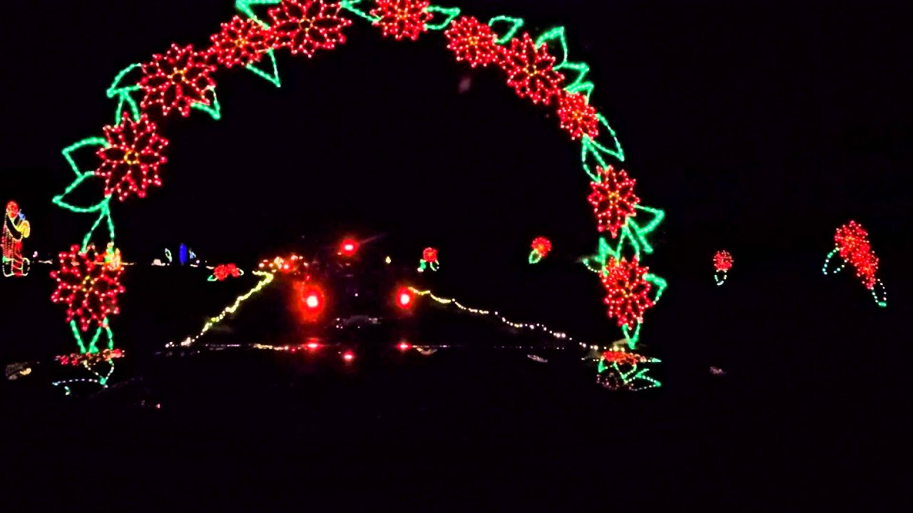 Spanaway Park Fantasy Lights - YouTube