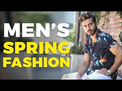 b20fb003 10 Men's Style Trends for Spring 2019 | Alex Costa - YouTube