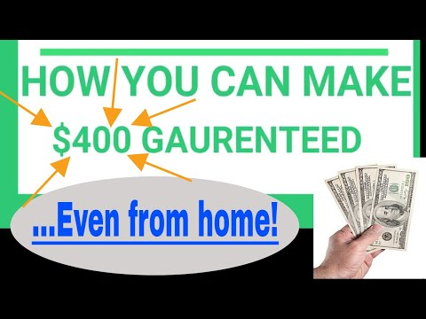 HOW I MADE $400 EASY AND GUARANTEED 2018(MUST WATCH!)
