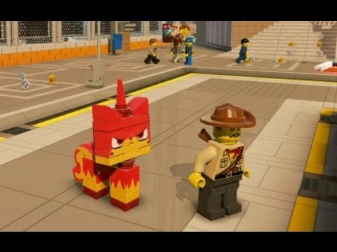 LEGO Movie Videogame - 5 Bonus Characters Unlocked (Special Cheat Codes)