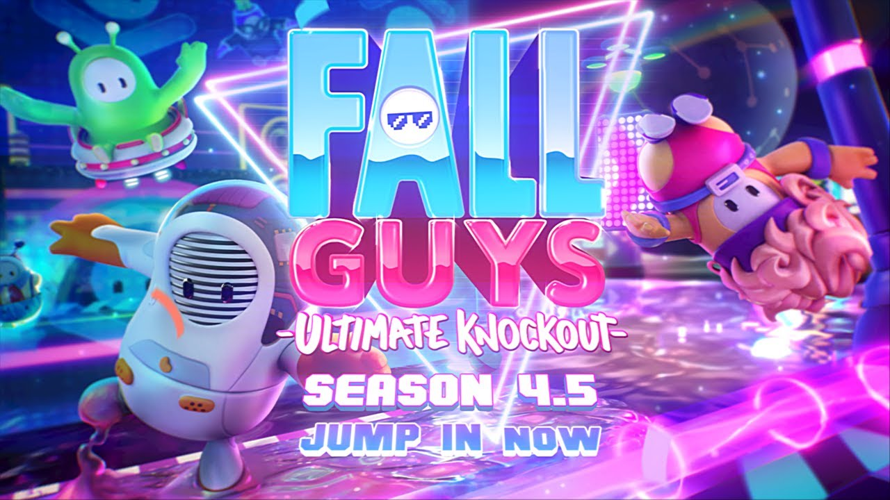 Fall Guys: Ultimate Knockout - Season 4.5 OUT NOW - Gameplay Trailer - Fall Guys