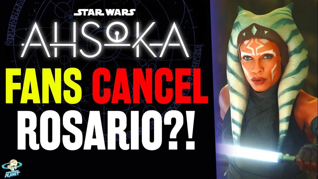 Ahsoka Fans Cancel Rosario Dawson As Series Details Emerge