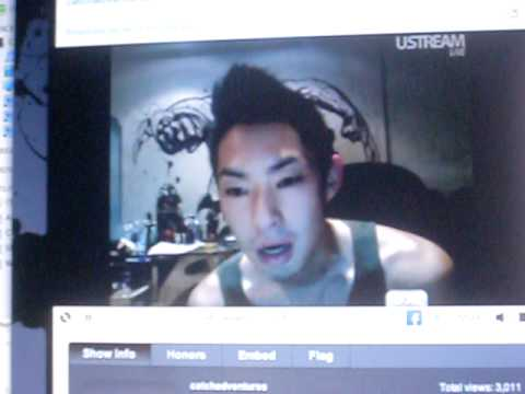 Vanness Wu live stream 9/12 (sorry for the camera movement)