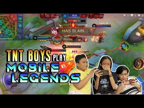 TNT Boys Play Mobile Legends! (Victory Or Defeat?)