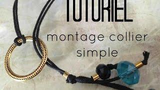 Tuto #46 : montage collier simple - PARTENARIAT - FR.PandaHall.com -