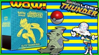 New Pokemon Lost Thunder Elite Trainer Box Opening! Epic First FA Of This Set Wow!