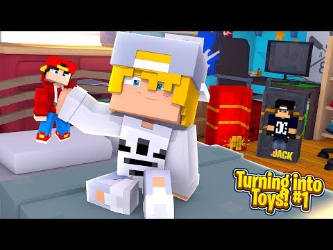 Minecraft Toys #1 - ROPO & JACK TURN INTO TOYS!!
