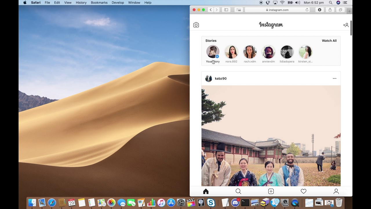 Post an Instagram Story from a Mac in 30 seconds