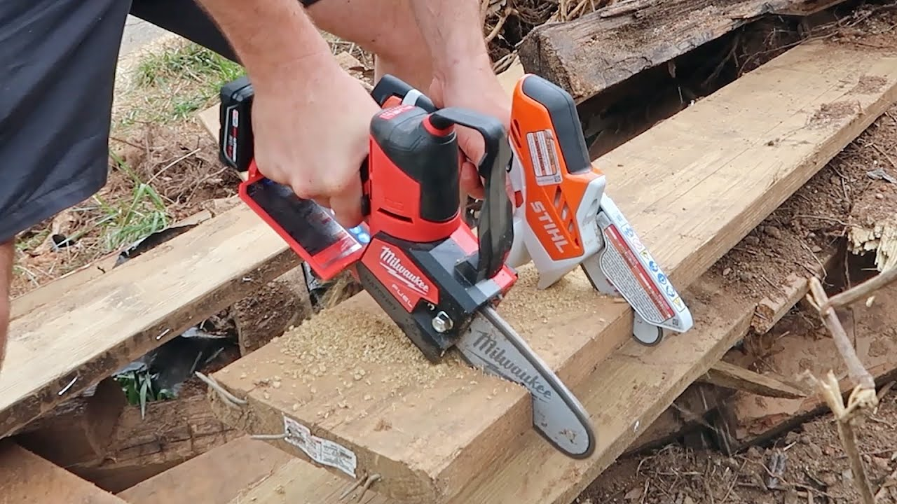 Awesome Mini Chainsaws