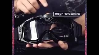 CCTUNG 720P HD Kayak Gözlüğü Spor Kamera Anti Sis Lensi