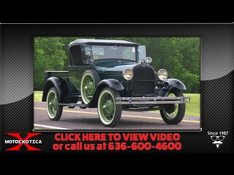 1928 Ford Model AR Open-Cab Pickup || SOLD