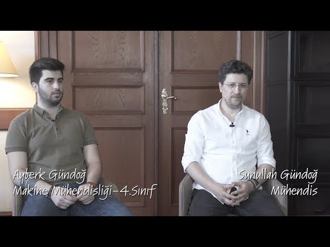MEF'li Aileler / Ayberk Gündoğ - Sunullah Gündoğ / Makine Mühendisliği