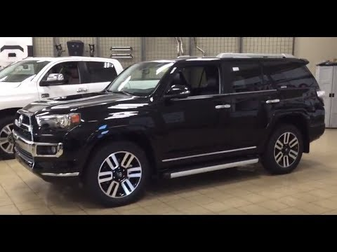 2018 toyota 4runner limited in blizzard pearl with redw doovi. Black Bedroom Furniture Sets. Home Design Ideas