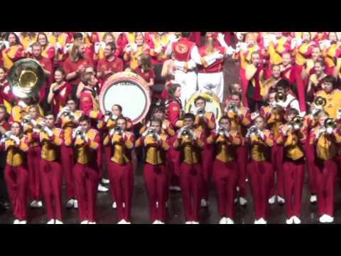 Iowa State University Marching Band - ISU Fight Song (2015 Band Extravaganza)