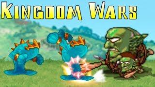 Kingdom Wars! 10 уровень! Войны королевств! Clone Armies ages (защити замок)