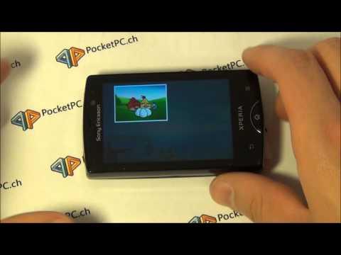 Sony Ericsson Xperia Mini Pro Benchmarks, Multitouch, Spiele und Tastatur vorgestellt