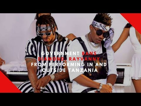Government bans Diamond, Rayvanny from performing in and outside Tanzania Mp3