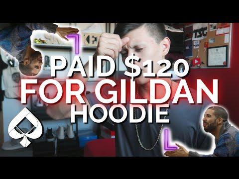 I PAID $120 FOR A GILDAN HOODIE?!
