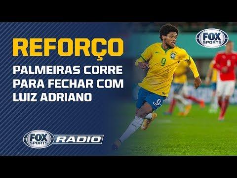 REFORÇO NO VERDÃO! Palmeiras acerta detalhes finais para anunciar a contratação de Luiz Adriano